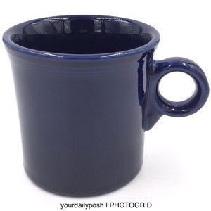 Fiesta Cobalt blue Tom & Jerry ring coffee mug